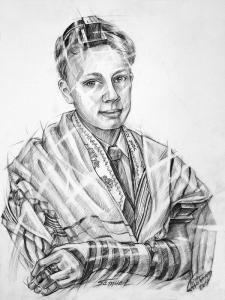 "Portrait ""Samuel, Bar Mitzwa"""