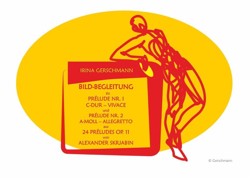 Bilderserie zu 24 Préludes Op. 11 von Alexander Skrjabin